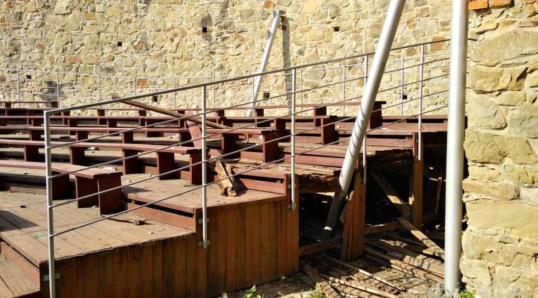 Bardejovský amfiteáter ostal v tieni rekonštrukcie Horného hradu