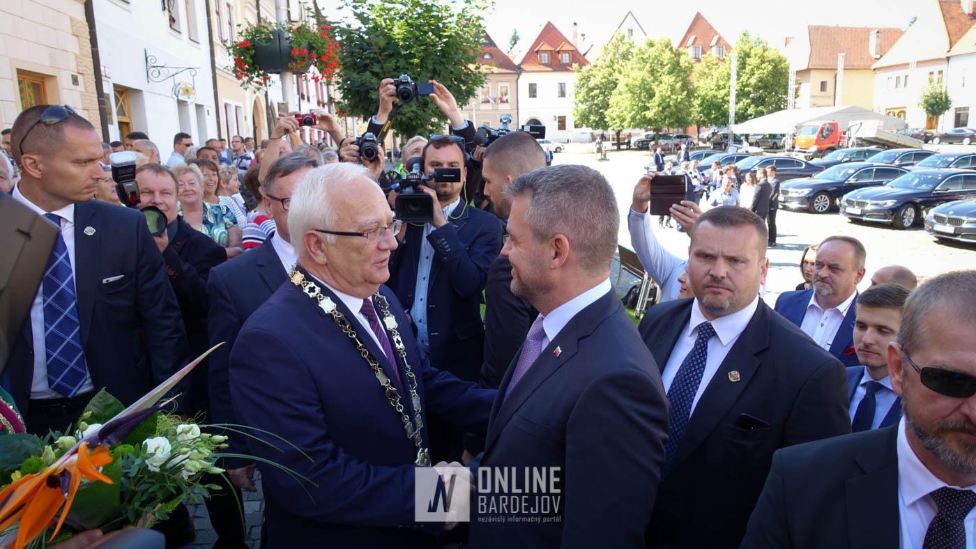 OBRAZOM: Výjazdové rokovanie Vlády SR v Bardejove