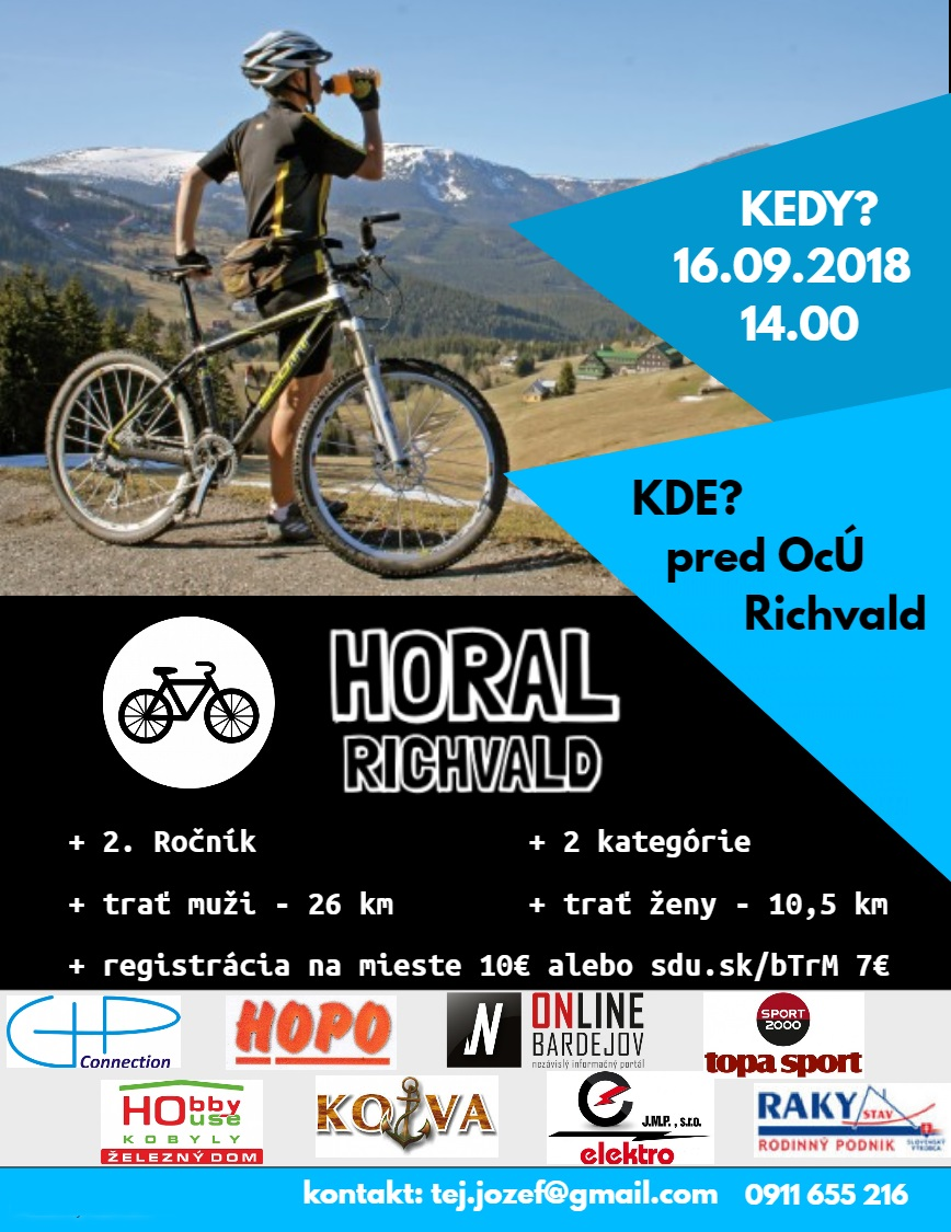 HORAL Richvald – cyklistika pre každého