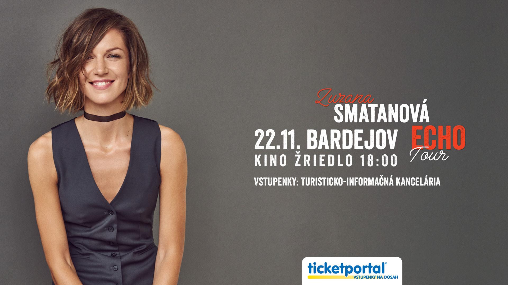 """Zuzana Smatanová má nový singel """"Môžeme si už odpustiť?"""", prvý raz zaznie naživo na aktuálnom turné aj u nás v Bardejove!"""