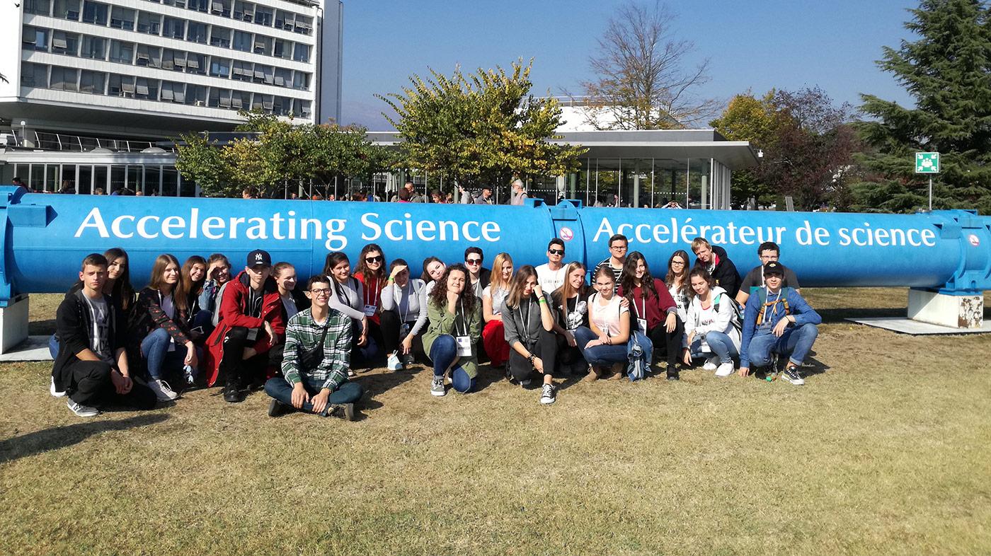 Žiaci Súkromného gymnázia na exkurzii v CERNe