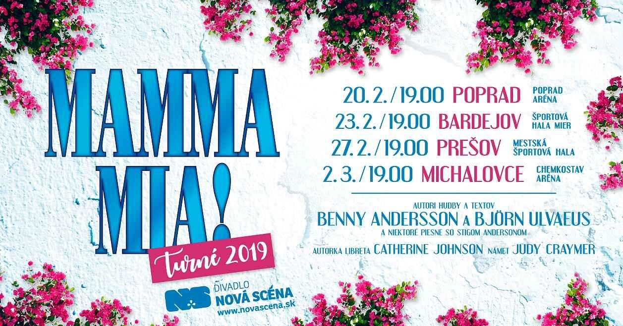 MAMMA MIA! Slovenskú verziu svetoznámeho muzikálu môžete vidieť aj v Bardejove.