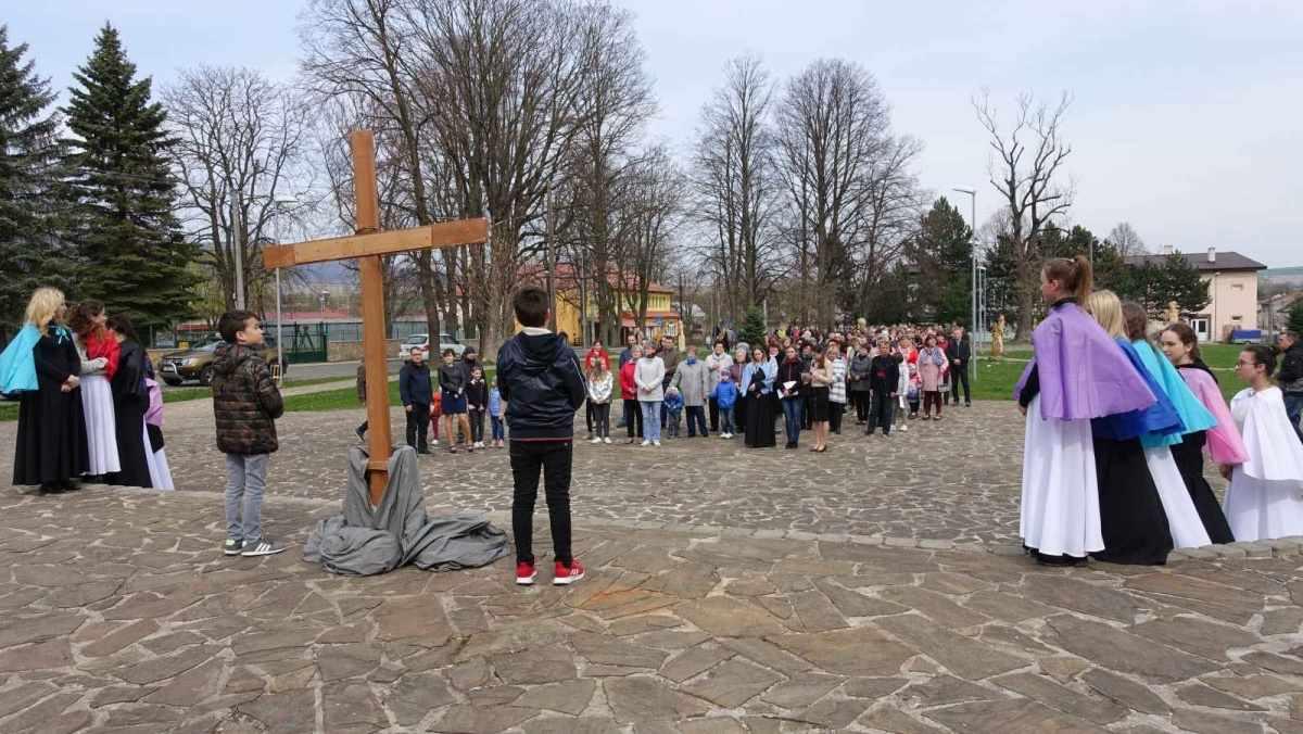 V obci Zborov slávili Kvetnú nedeľu a vstup do veľkého týždňa