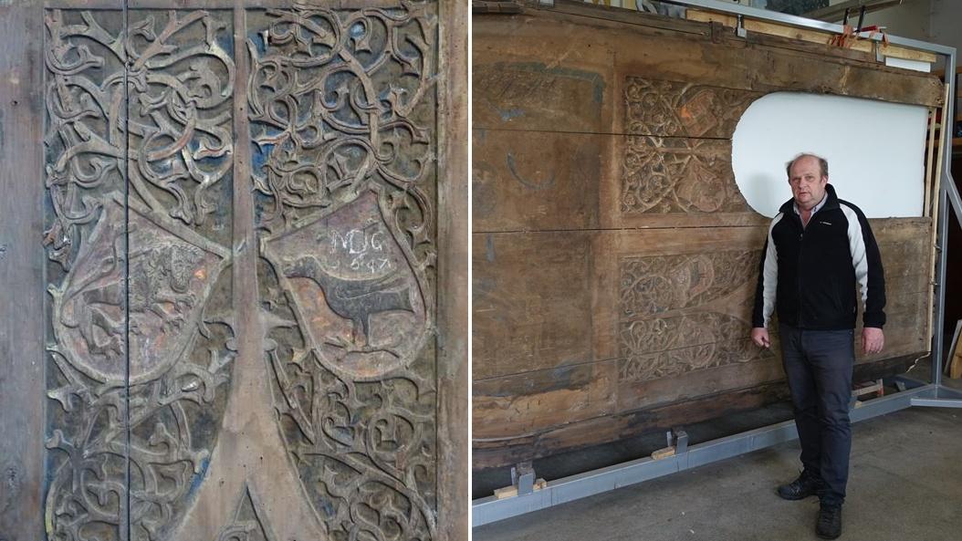 Novoobjavený unikát! Gotická brána v bardejovskej bazilike odhaľuje svoje tajomstvá.