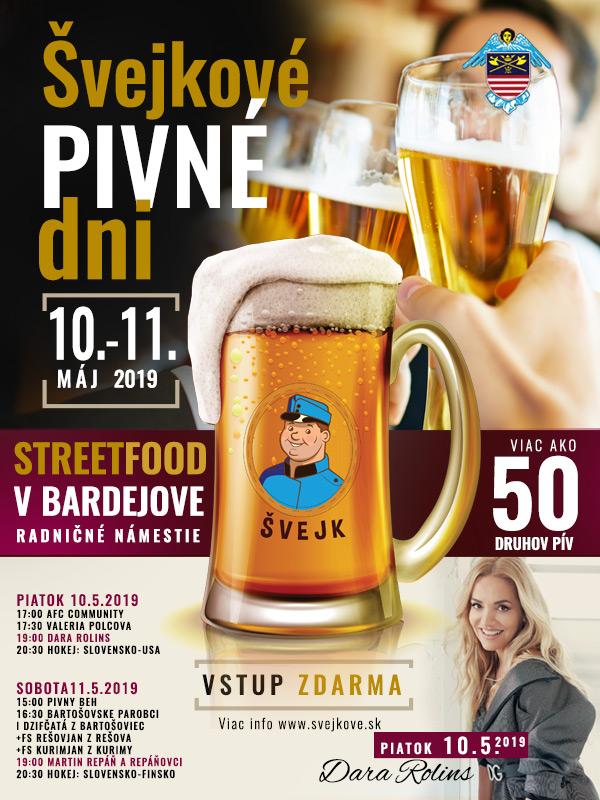 """Tradičný festival """"Švejkove pivné dni"""" tohto roku aj v Bardejove!"""