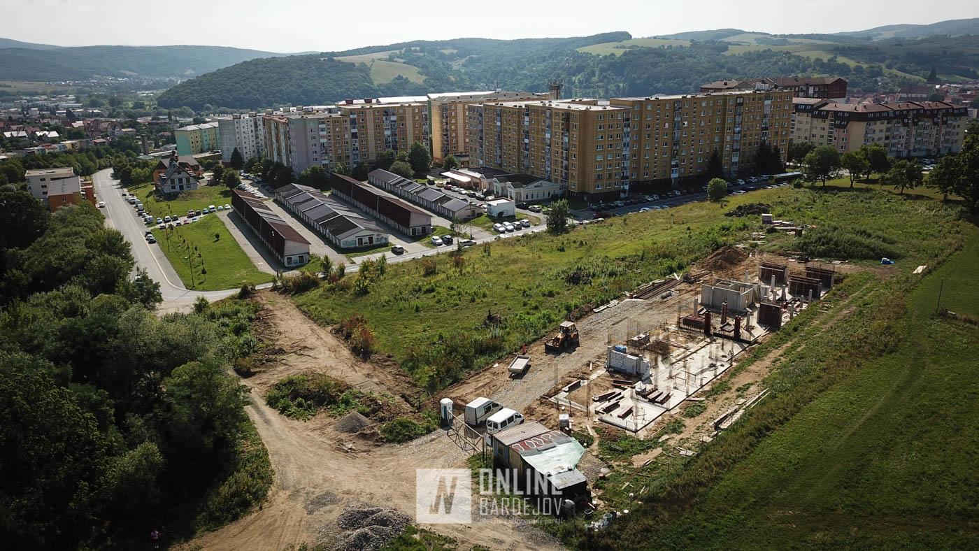 Na Vinbargu prebieha výstavba novej trojpodlažnej bytovky
