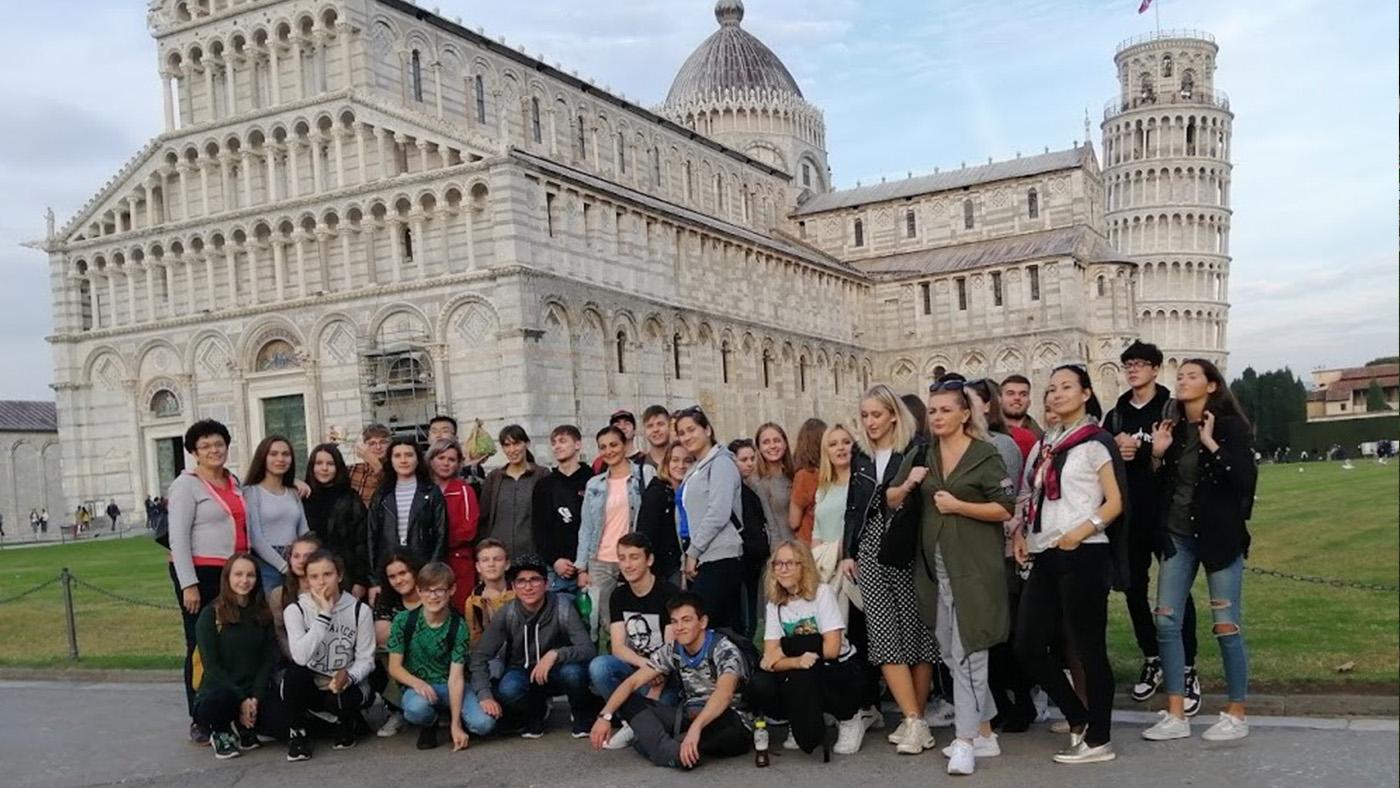 Žiaci Súkromného gymnázia po stopách Leonarda da Vinciho