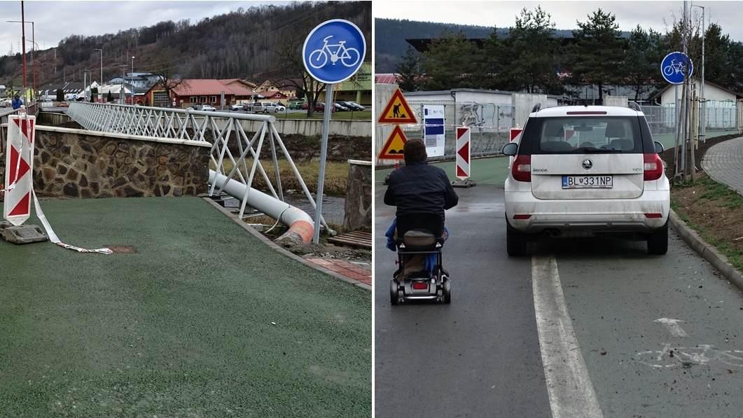 OBRAZOM: Cyklochodník pri Topli. Symbióza projektanta a realizátora… spokojnosť investora…