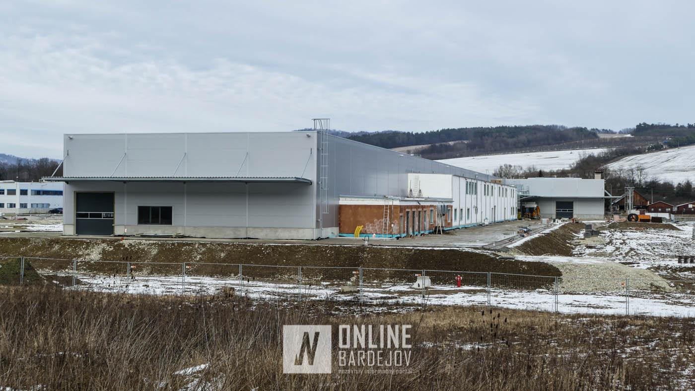 OBRAZOM: Ako vyzerá nová výrobná hala Kamax-u