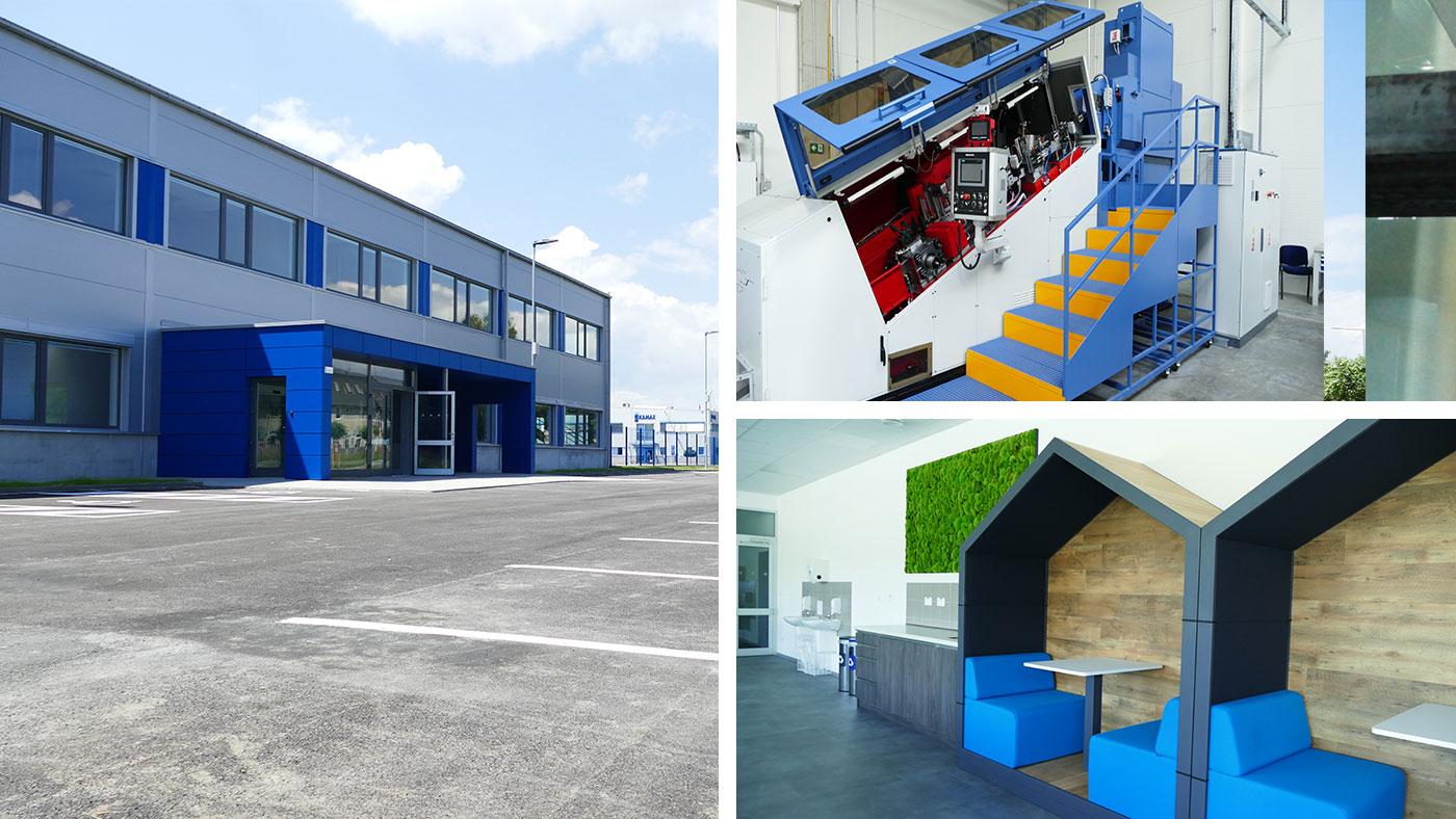 KAMAX v Bardejove rozširuje výrobu! Po 11 rokoch vyrástla na zelenej lúke ďalšia výrobná hala.
