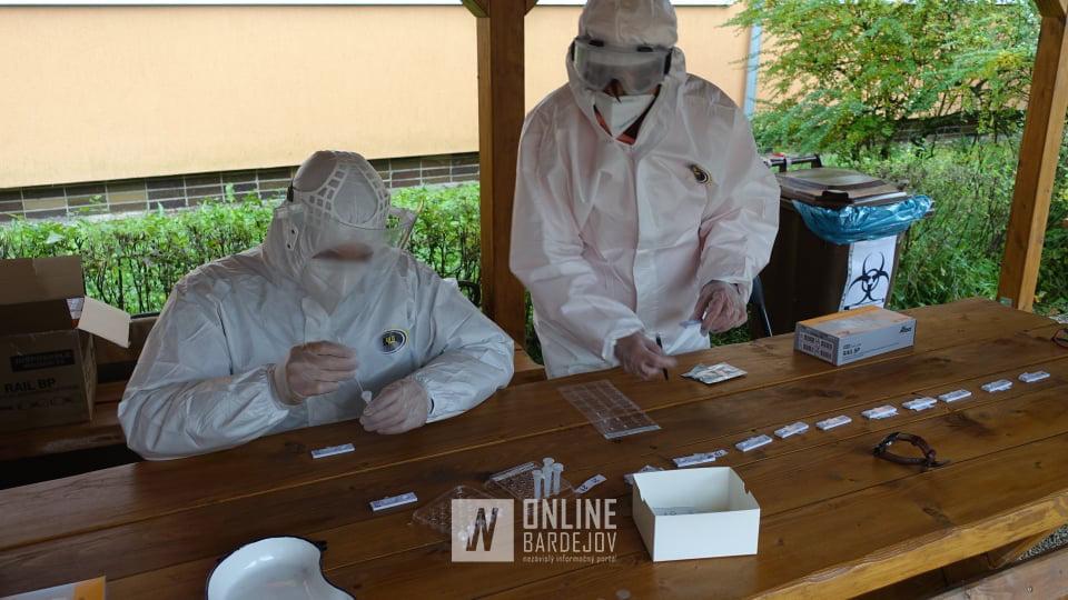 Vokrese Bardejov bolo za včerajší deň otestovaných celkovo 19404 osôb. Testy zistili infekčnosť u534 znich!