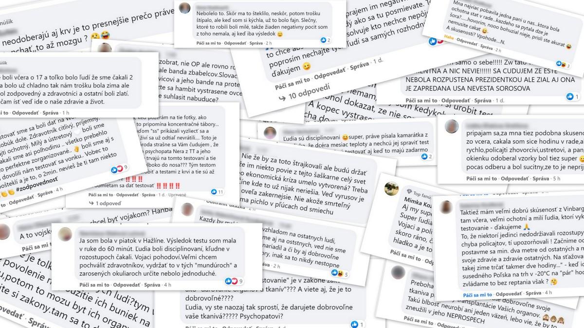 10 najlepších a 10 najhorších komentárov na našom facebooku k pilotnému testovaniu