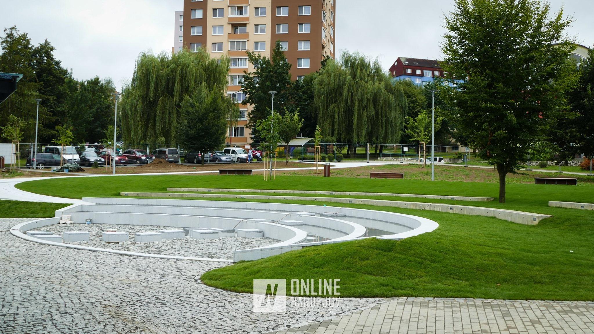 Park Európy pred dokončením