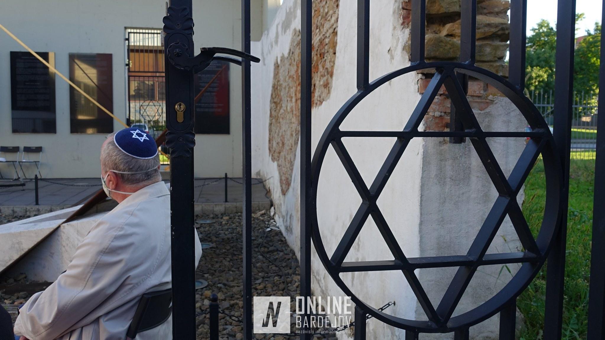 V Bardejove nezabúdajú! Spomienka na obete holokaustu