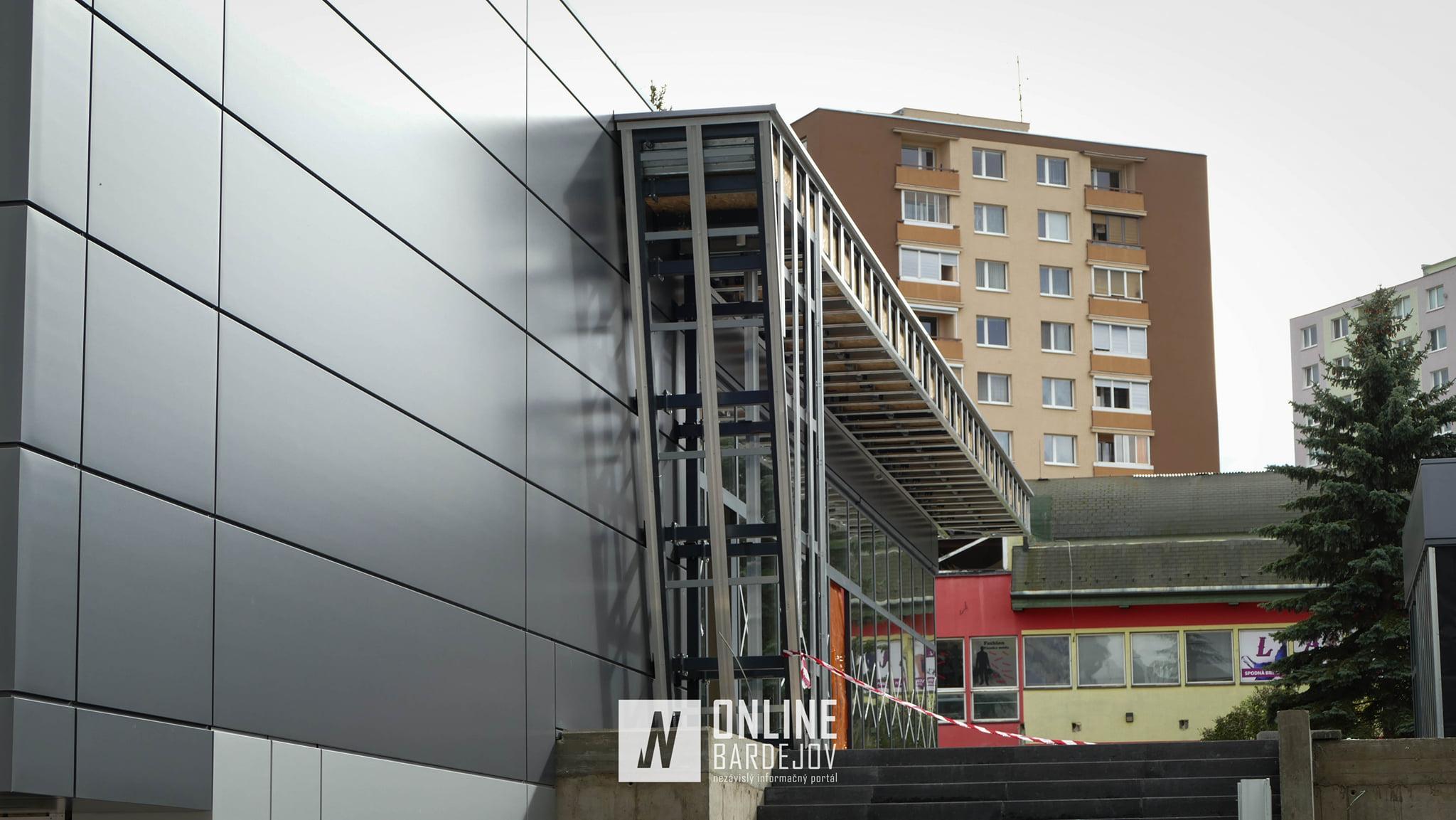 Komplex AB-Parku počas dokončovacích prác