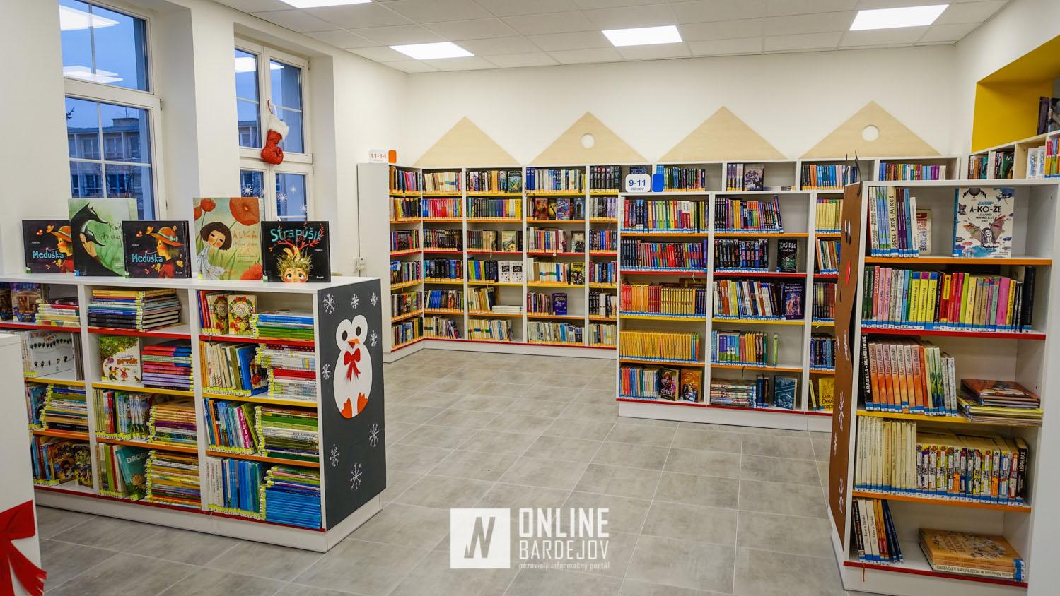 Pozrite si vynovené priestory v Okresnej knižnici Dávida Gutgesela
