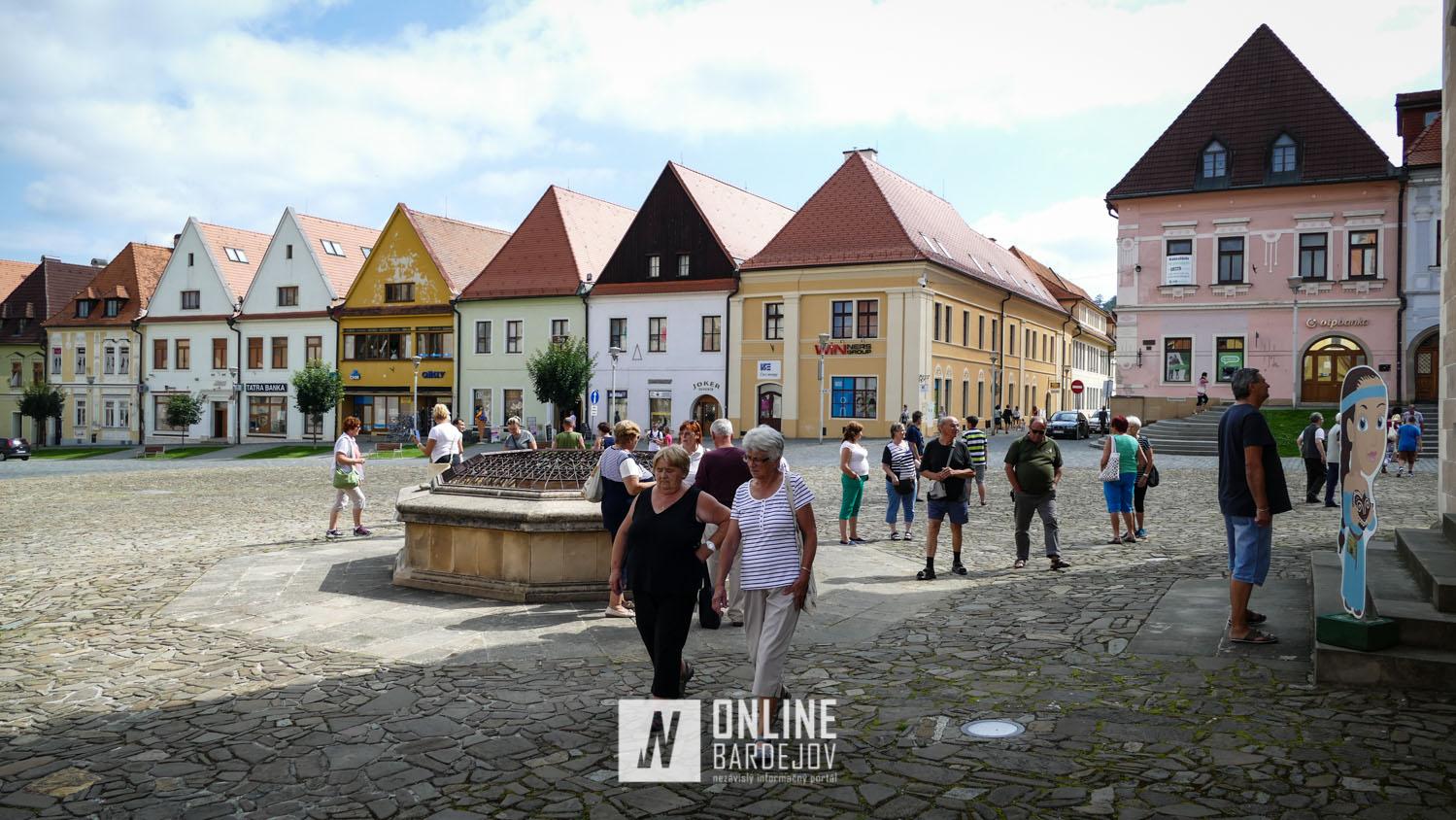 Krivka návštevnosti Prešovského kraja v roku 2020 rapídne klesla.