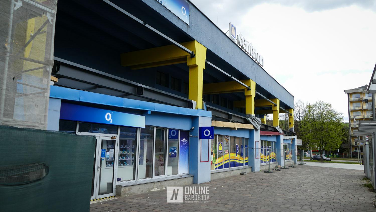 OD Centrum po rekonštrukcii rozšíri svoje predajné plochy