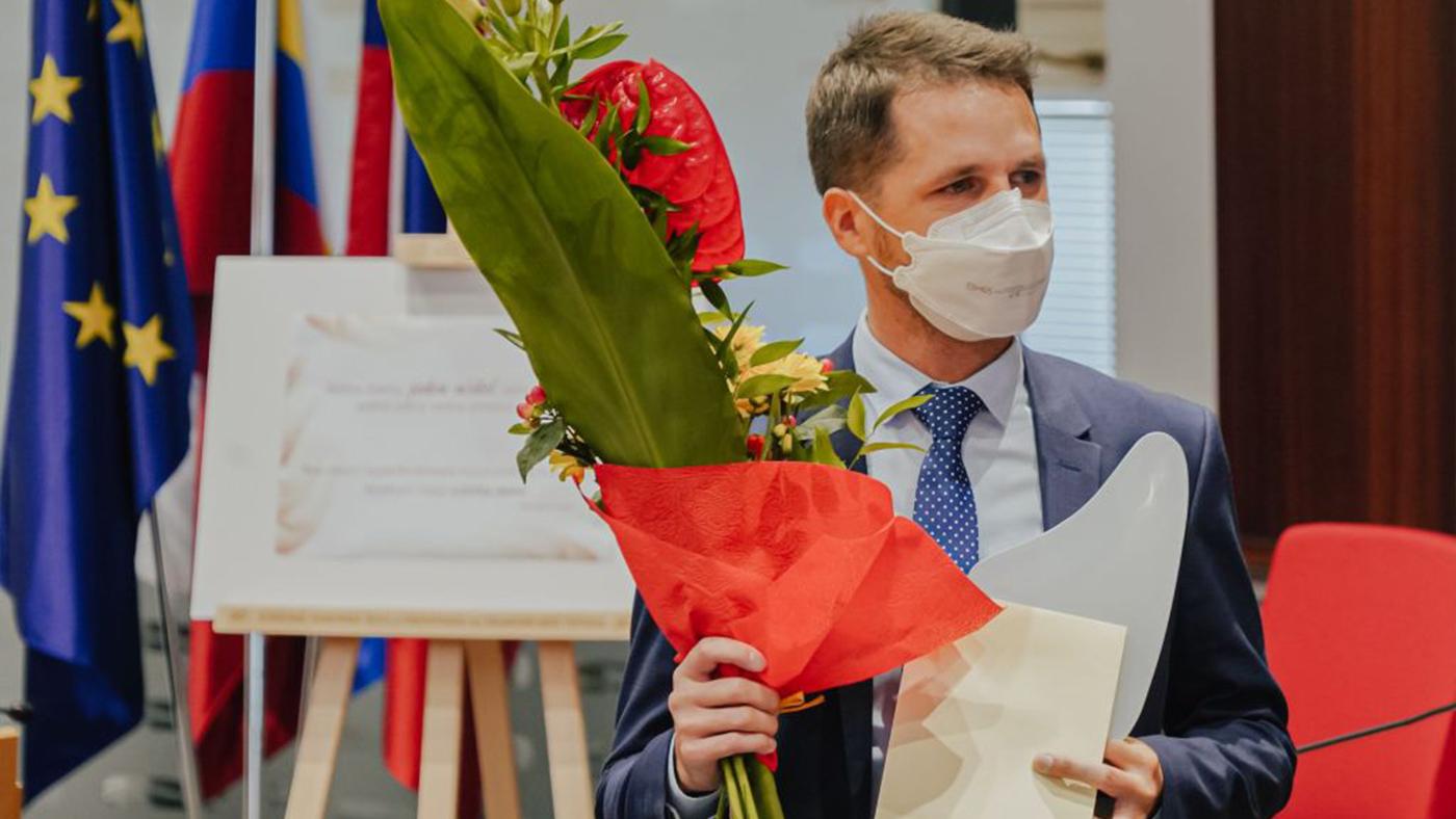 Prešovský kraj ocenil Naj online učiteľa. Víťazom je učiteľ z Bardejova.